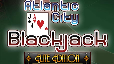 Play Atlantic City Blackjack Elite Edition - USA and International Players Welcome