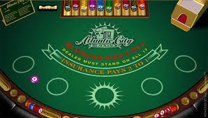 Play Atlantic City Blackjack - USA and International Players Welcome