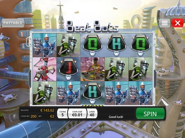 Play Beat Bots - USA and International Players Welcome