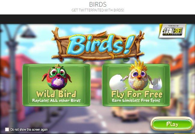 Black Diamond Birds @ http://mobilecasinogame.info