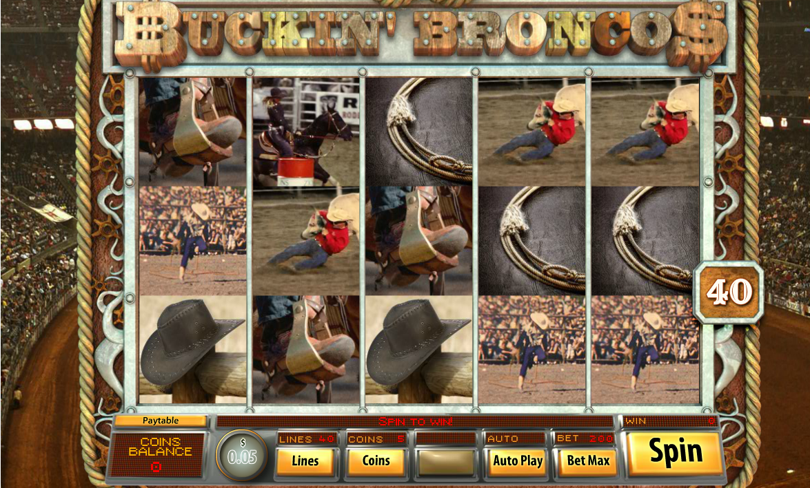 Play Buckin Broncos - USA and International Players Welcome