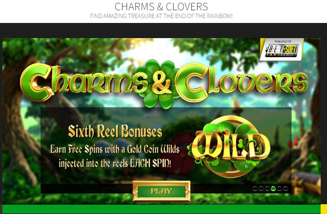 Play Charms And Clovers - USA and International Players Welcome