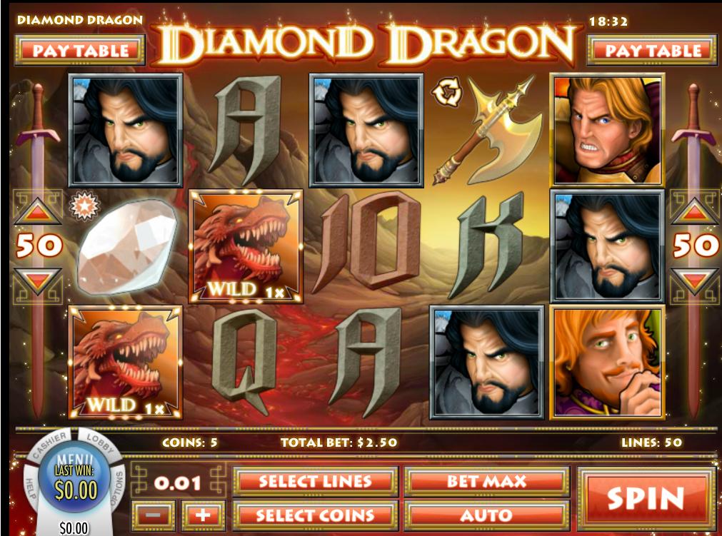 Play Diamond Dragon - USA and International Players Welcome