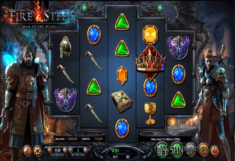 Black Diamond Fire and Steel @ http://mobilecasinogame.info