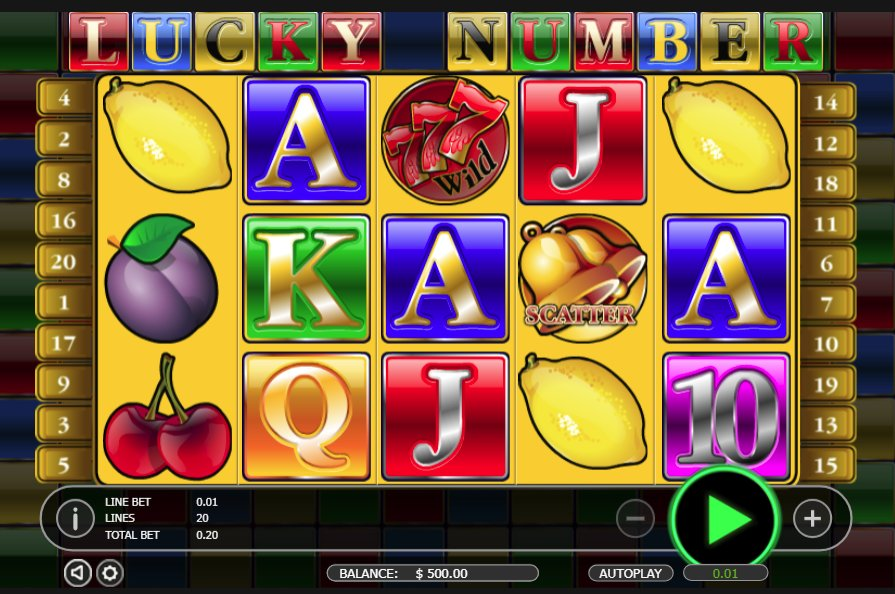 Black Diamond Lucky Number @ http://mobilecasinogame.info