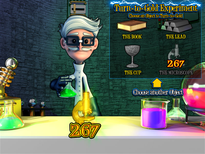 Black Diamond Mad Scientist @ http://mobilecasinogame.info