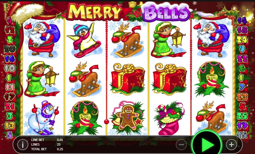 Black Diamond Merry Bells @ http://mobilecasinogame.info