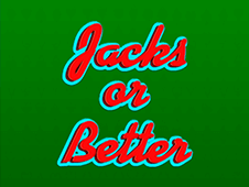 Play Jacks or Better