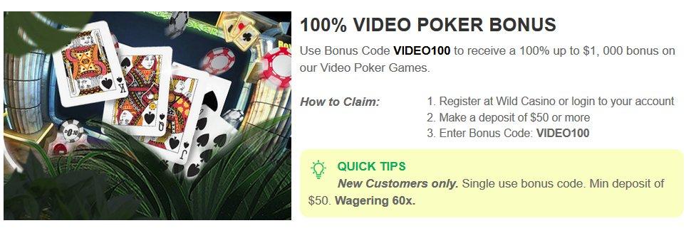 9 6 Jacks Or Better Video Poker The Best 100 Match Bonus Mobile Casino Games