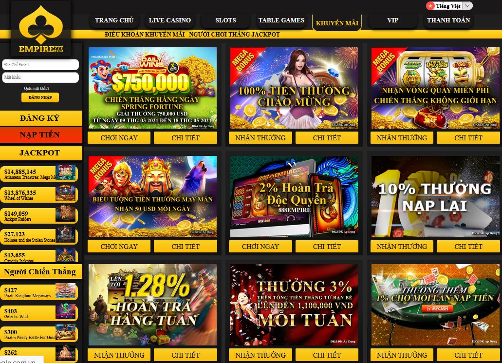 Empire 777 Games Vietnam